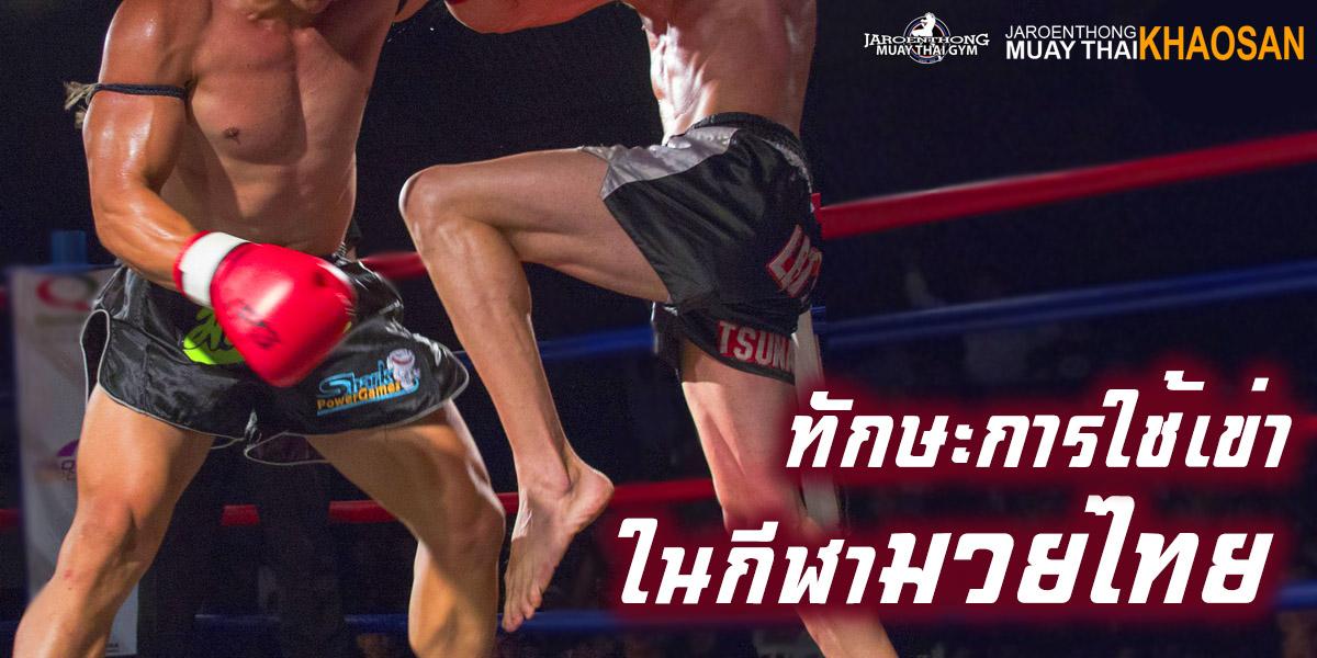 ทักษะ การใช้เข่า ในกีฬา มวยไทย ( Muay Thai )